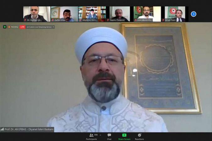 Prof. Dr. Ali Erbaş: Huzurlu toplum ancak aile huzuruyla kurulur