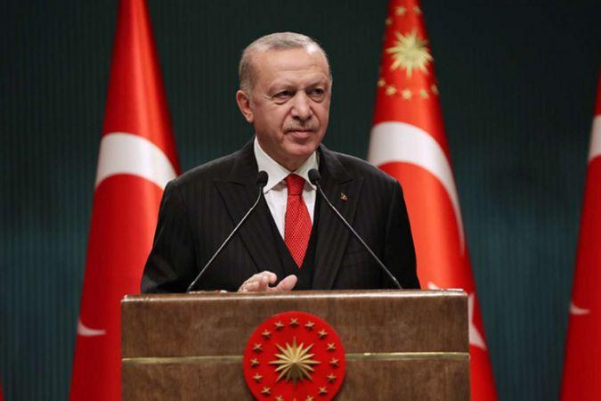 Cumhurbaşkanı Erdoğan'dan Danıştay mesajı