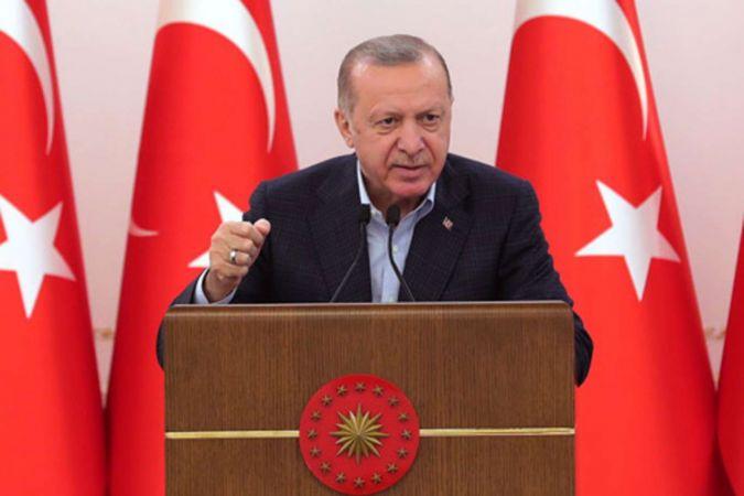 Cumhurbaşkanı Erdoğan Abbas ve Heniyye ile görüştü