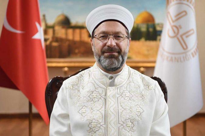 """Erbaş: """"İslam coğrafyasının huzuru için birlik olunmalı"""""""