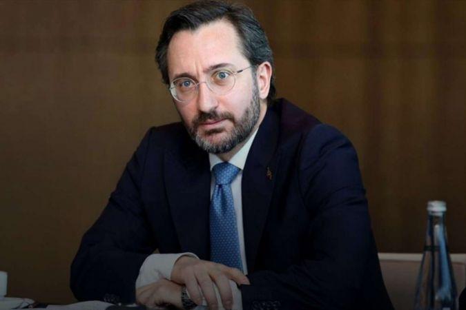 İletişim Başkanı Altun'dan Siyonist işgal rejimine tepki