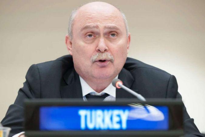 Türkiye'nin BM Daimi Temsilcisi Sinirlioğlu'ndan BMGK'ye Filistin tepkisi