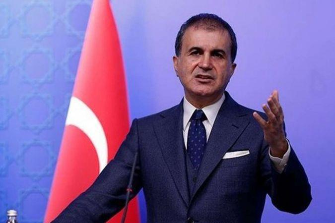 AK Parti Sözcüsü Çelik'ten ABD Dışişleri Bakanlığı'na kınama