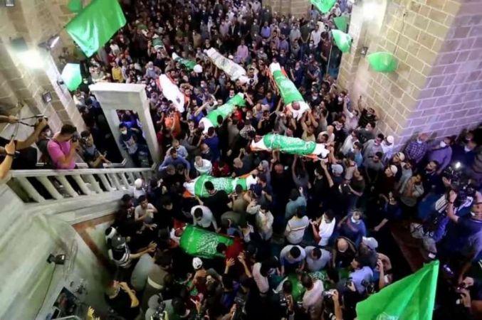 Siyonist işgalcilerin Filistin genelindeki saldırılarında 259 kişi şehid oldu
