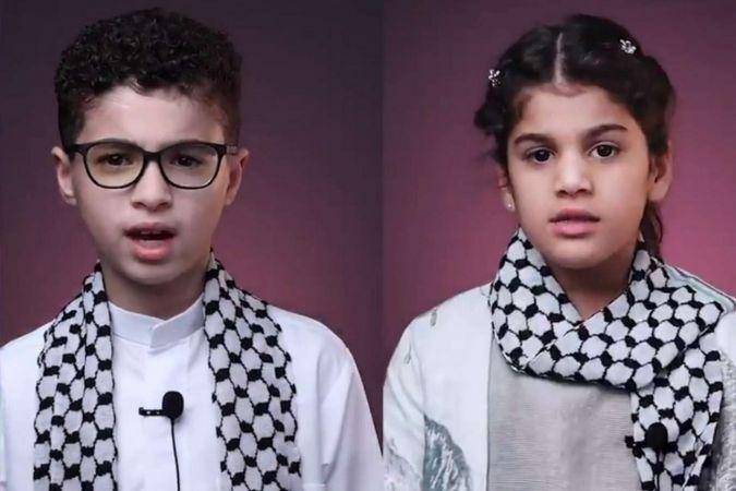 Ümmetin çocuklarından Filistin'deki çocuklara mesaj: Sizi ziyaret edip birlikte oyunlar oynayacağız