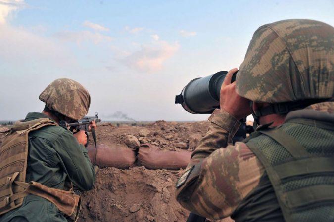 Saldırı girişiminde bulunan 6 PKK mensubu öldürüldü