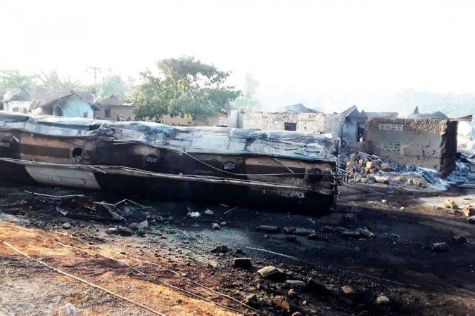 Gana'da tanker patladı: 3 ölü 7 yaralı