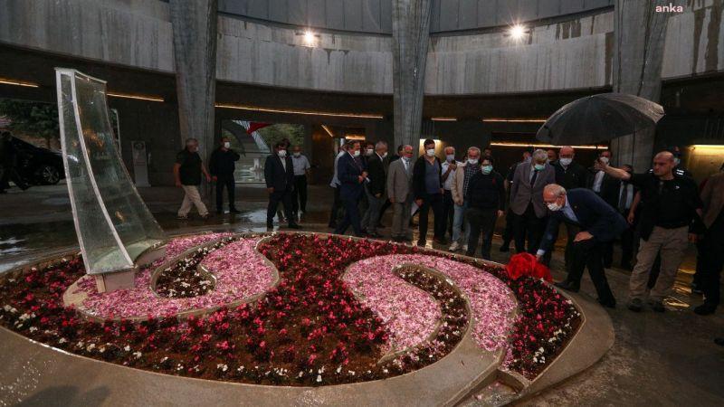 Kılıçdaroğlu, Süleyman Demirel'in mezarını ziyaret etti