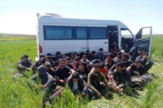 Ankara'da 36 düzensiz göçmen yakalandı