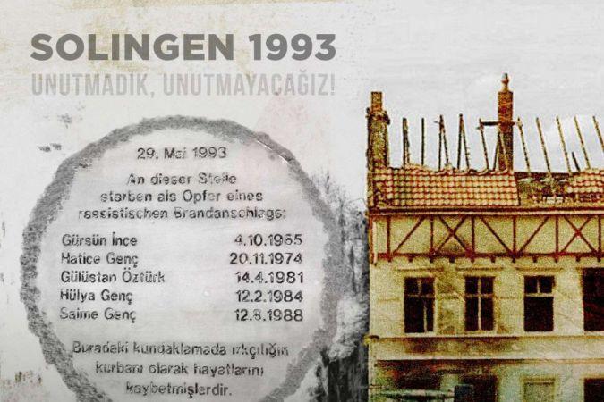 """Bakan Çavuşoğlu'ndan """"Solingen katliamı"""" paylaşımı: İslam düşmanlığı zehirdir"""