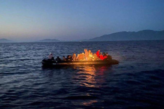 Bir haftada 200 düzensiz göçmen kurtarıldı