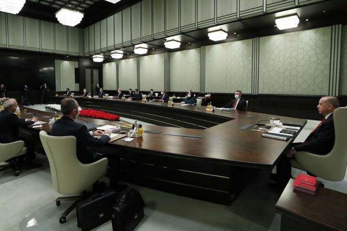 Cumhurbaşkanlığı Kabinesi toplantısı başladı