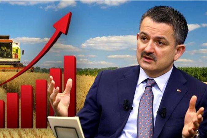 """Bakan Pakdemirli: """"Tarım sektörü kesintisiz 10 çeyrektir büyüyor"""""""