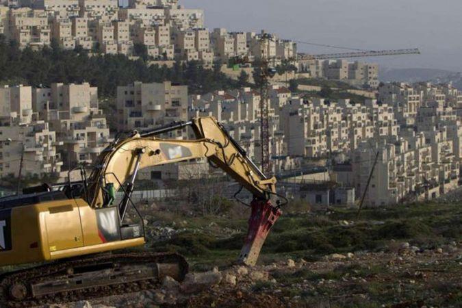 Siyonist işgal rejimi Filistin'de arazi gaspına devam ediyor