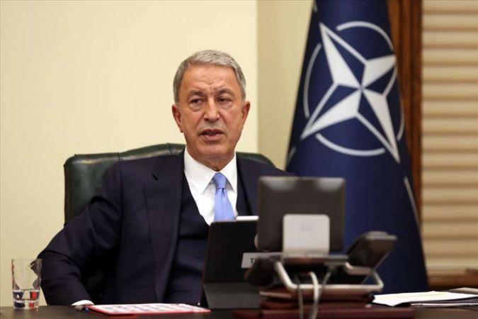 Millî Savunma Bakanı Akar NATO Savunma Bakanları Toplantısı'na katıldı