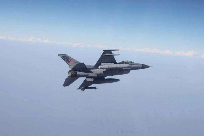 Irak'ın kuzeyindeki Zap ve Avaşin bölgelerine hava harekâtı