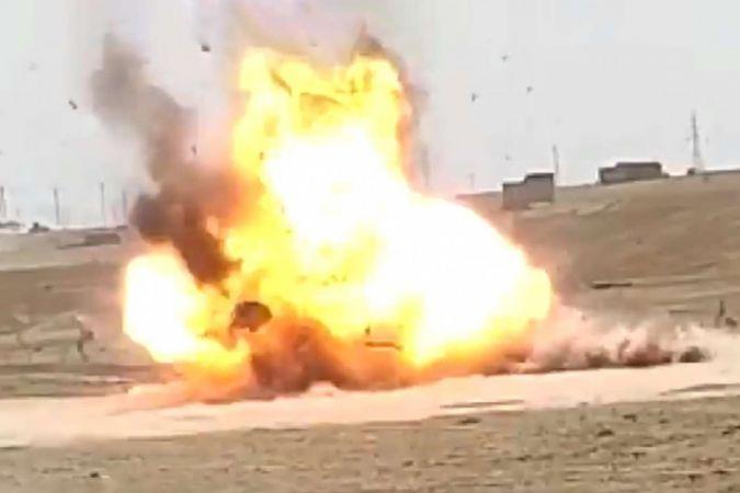 MSB: Araziye bırakılan araçta patlayıcı tespit edildi