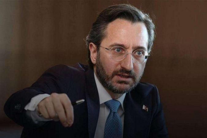 İletişim Başkanı Altun'dan saldırıya uğrayan başörtülü akademisyene destek