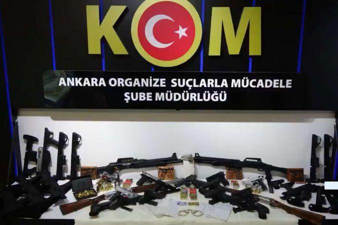Suç örgütüne yönelik operasyonda 30 şüpheli yakalandı