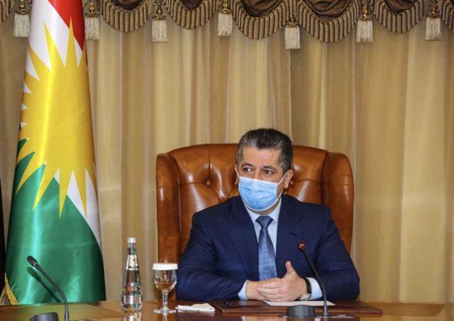 Kürdistan Bölgesi Başbakanı Barzani Belçika'da