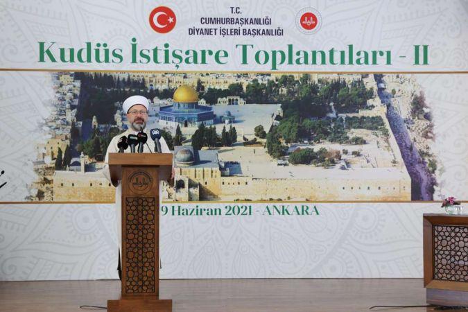 2. Kudüs İstişare Toplantısı Ankara'da başladı