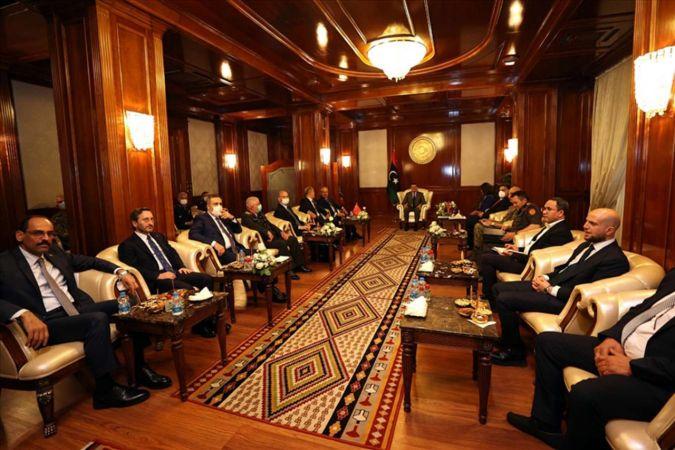 Türkiye'den Libya'ya giden üst düzey heyet önemli görüşmeler gerçekleştirdi