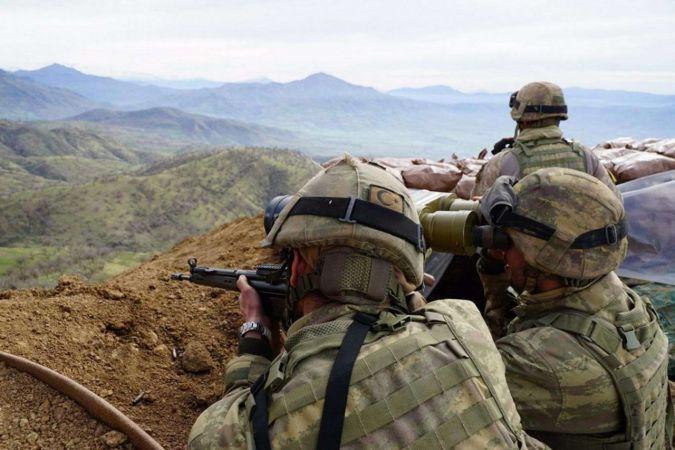 Irak'ta 5 PKK mensubu öldürüldü