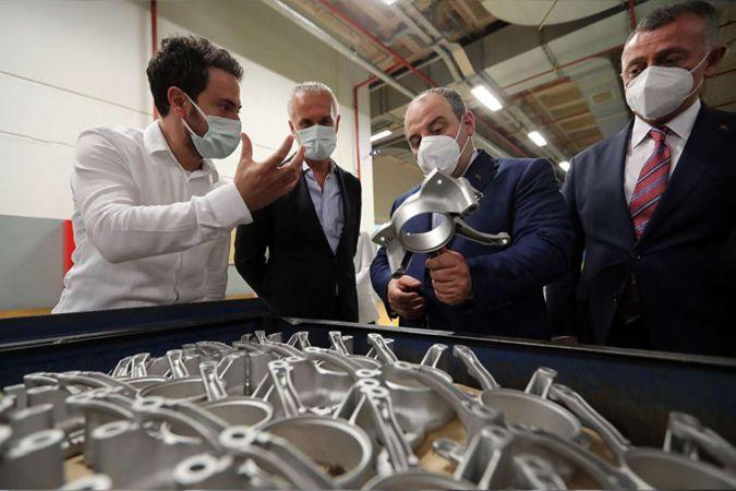 Bakan Varank: Otomotiv endüstrisine yeni Tedarikçiler kazandırmak istiyoruz
