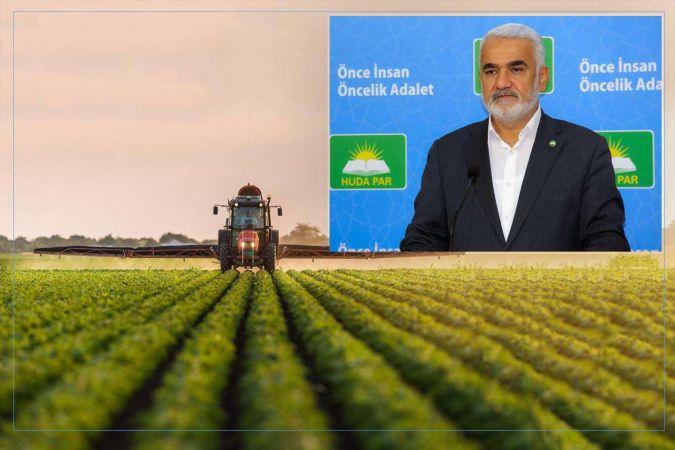 Yapıcıoğlu: Tarım politikalarında ciddi bir zihniyet değişimine ihtiyaç vardır