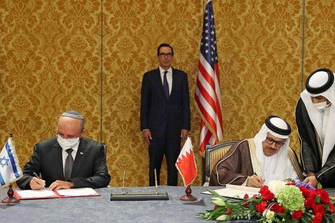Bahreyn, siyonist işgal rejimi sözde yeni hükümetini tebrik etti