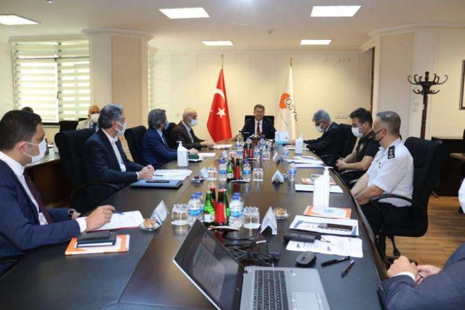 2021-YKS Merkez Sınav Koordinasyon Kurul Toplantısı gerçekleştirildi
