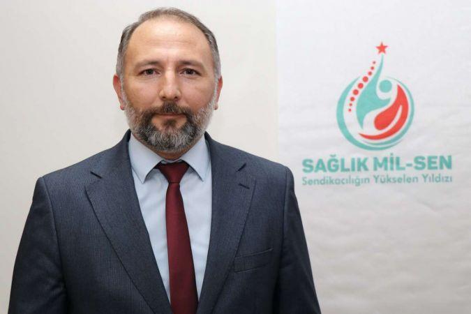  Sağlık Mil-Sen Genel Başkanı Yalçınkaya: Sağlık çalışanları gelir kaybı yaşıyor