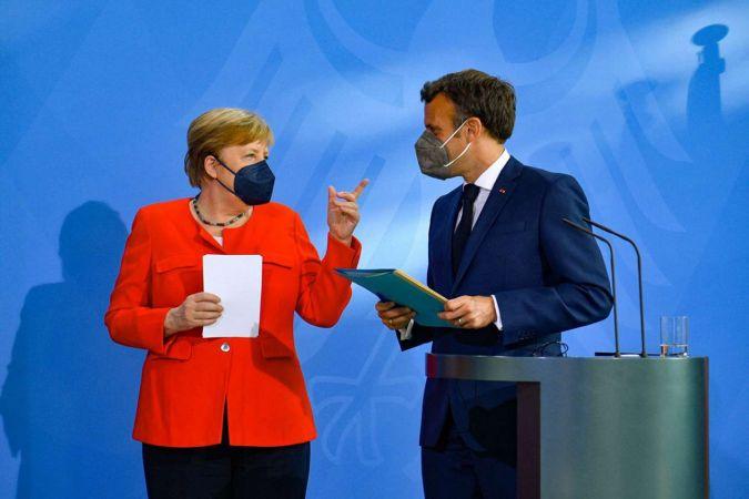 Merkel ve Macron'dan ortak Türkiye mesajı: Birbirimize ihtiyacımız var
