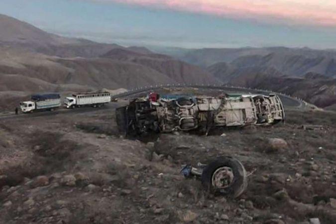 Peru'da otobüs uçuruma yuvarlandı: 27 ölü 16 yaralı
