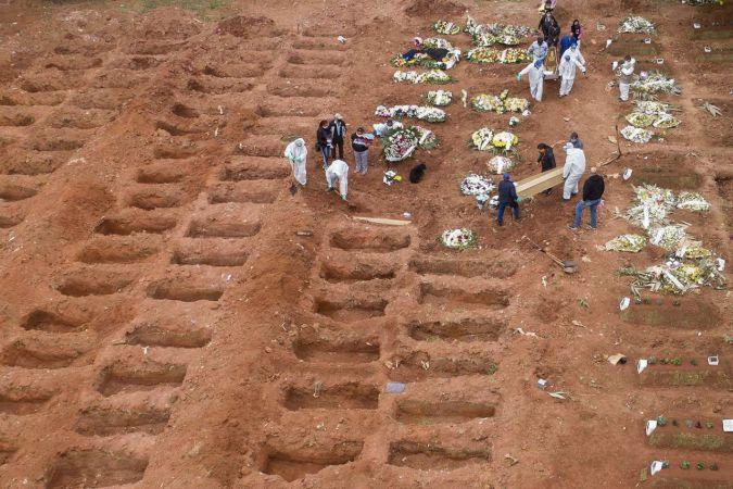 Brezilya'da vefat sayısı yarım milyonu aştı