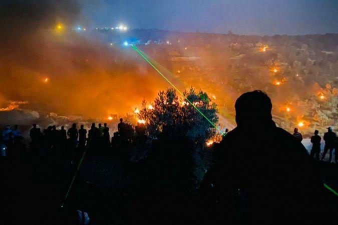 Siyonist işgal rejiminin saldırılarında 20'den fazla Filistinli yaralandı