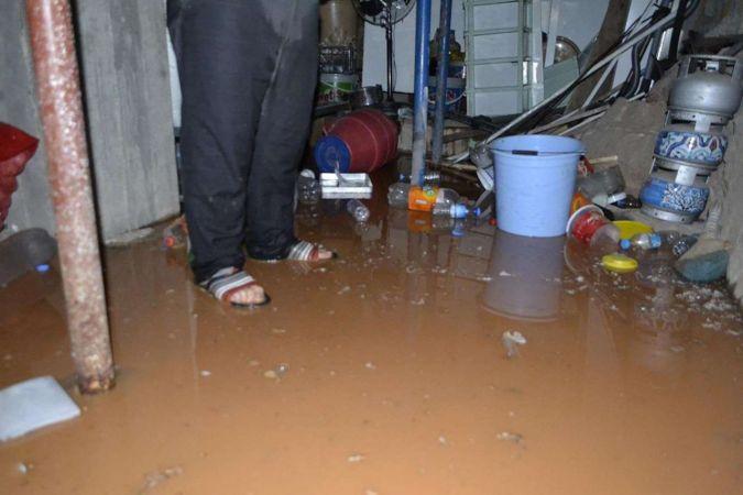 Ankara'da sağanak yağışlar su baskınlarına neden oldu
