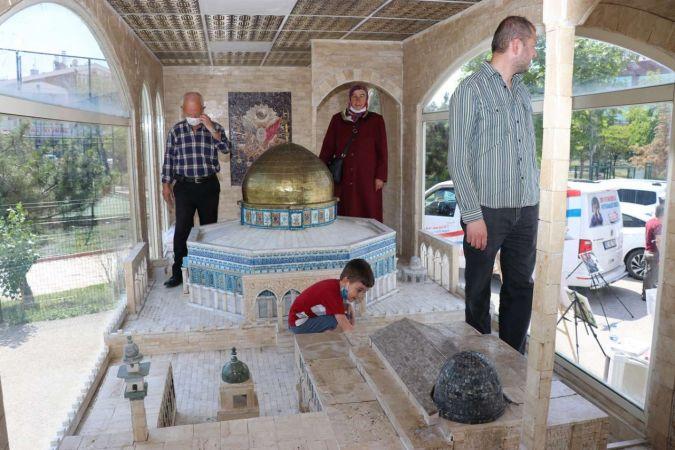 Minia Kudüs tırı Ankara'da