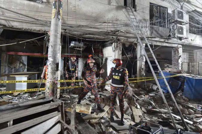 Bangladeş'te patlama: 7 ölü 50 yaralı