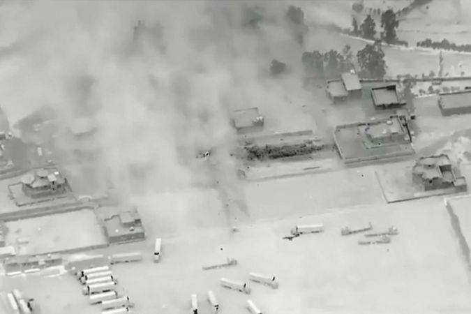ABD Suriye'de sivillerin evini füzeyle vurdu