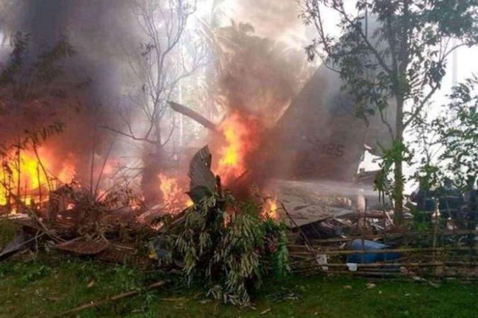 Filipinler'deki uçak kazasında ölü sayısı 31'e yükseldi