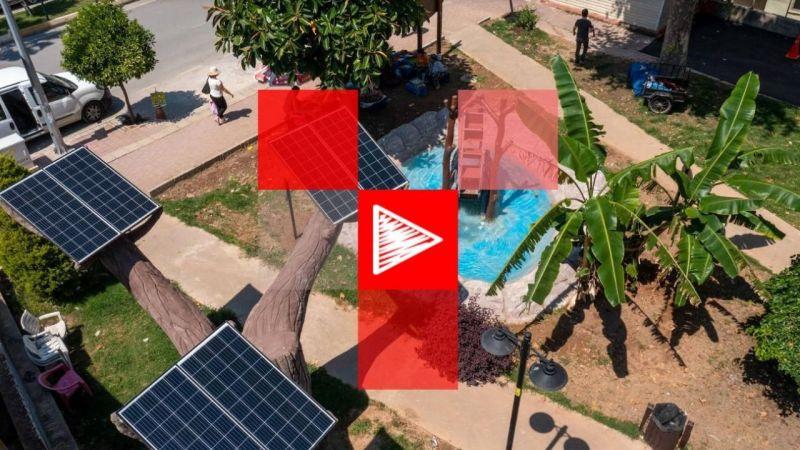 Antalya'da parklar elektrik üretiyor