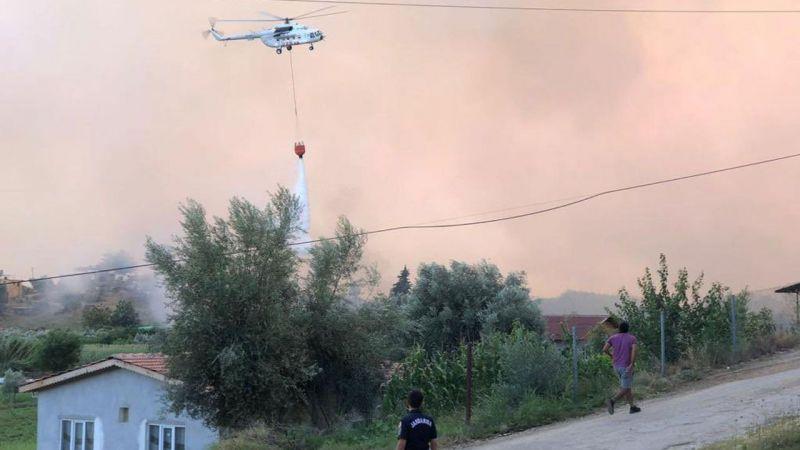Antalya Manavgat'ta müdahale sürüyor