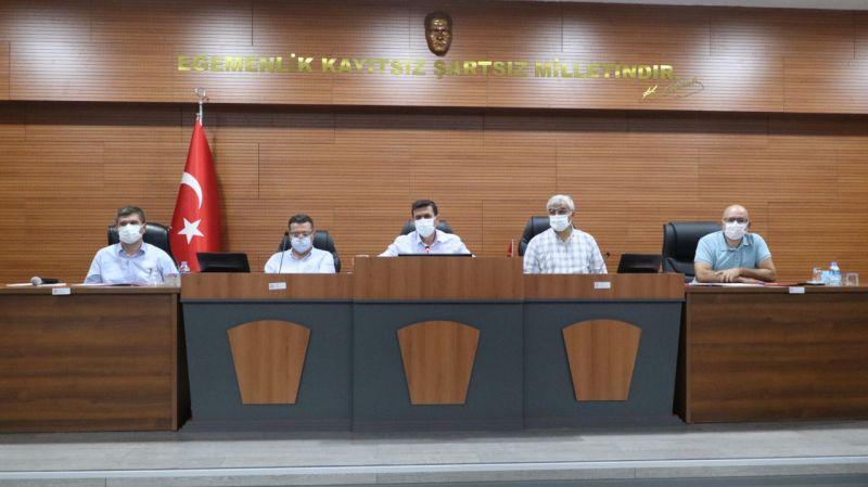 Burdur'da yardım kampanyası toplantısı