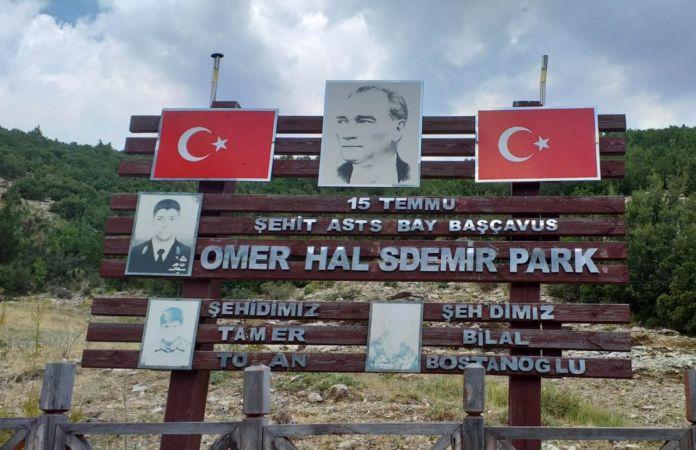 Türk bayrağına silahla ateş edilerek zarar verildi, soruşturma başlatıldı