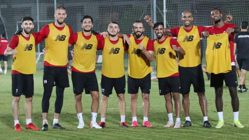 Antalyaspor, taktik çalıştı