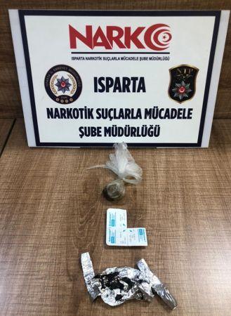 Isparta'da uyuşturucu operasyonları
