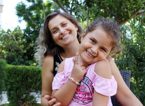 Okul heyecanı yaşayan Öykü Arin, online eğitim görecek
