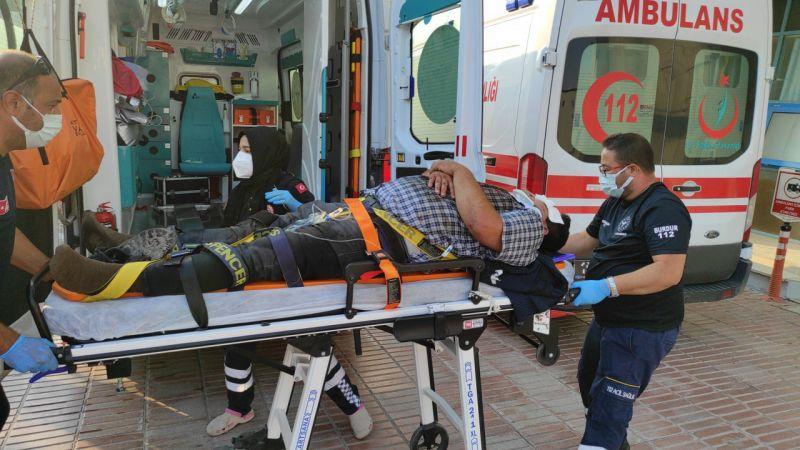 Burdur'da 2 kaza: 1'i ağır 3 yaralı