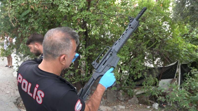 Tüfekle ateş açtı, silahı nereden buldun sorusuna 'Silah sıkıntı değil baba' cevabını verdi